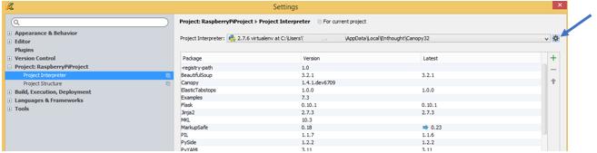 Remote Programming of Raspberry Pi using PyCharm - Software