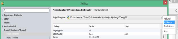 Remote Programming of Raspberry Pi using PyCharm - Software Artist